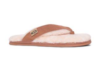 Sheepskin Flip Flops (A)