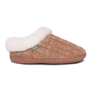 Crochet Sheepskin Scuff (A)
